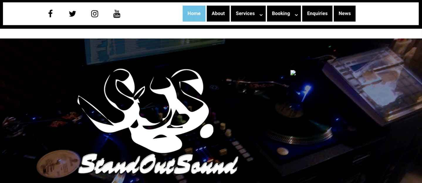 standoutsound-dot-com-website-screenshot
